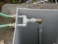 Kanalizace kolem domu pro dešťovou vodu