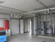 Plynová kotelna s předávací stanicí